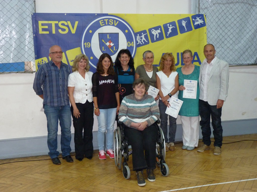 Mitglieder, die für besondere sportliche Leistungen geehrt wurden.