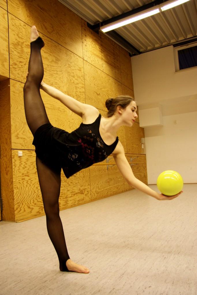 Impressionen der Turn-Abteilung des ETSV Lauda: Rhythmische Gymnastik